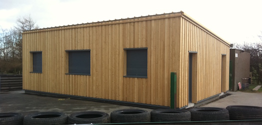 British Automobile Track Offices - Clay Construction